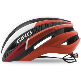 Giro Synthe Kask rowerowy czerwony/biały